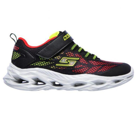 Skechers KIDS S LIGHT: VORTEX-FLASH Black/Red