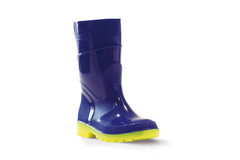 Bata CHILDRENS BUBBLEGUMMER GUMBOOT Blue