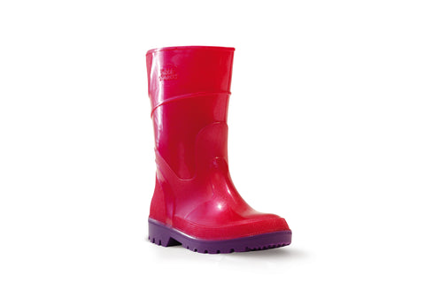 Bata CHILDRENS BUBBLEGUMMER GUMBOOT Pink