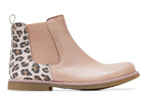 Clarks CHELSEA INFANT Rose/Leopard