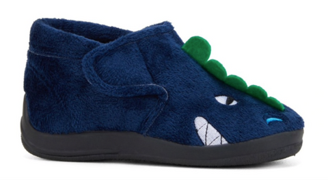 Grosby DINOSAUR Slipper Navy