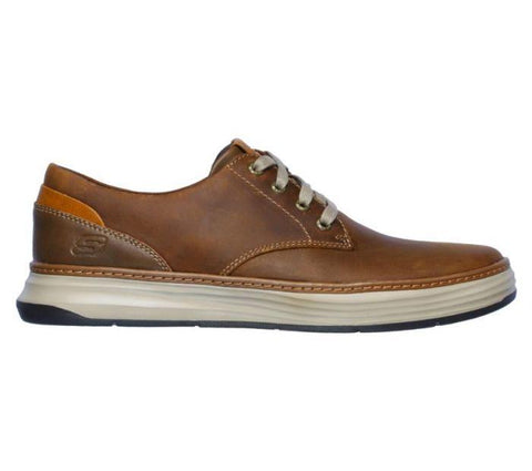 Skechers MEN'S MORENO-GUSTOM Dark Brown