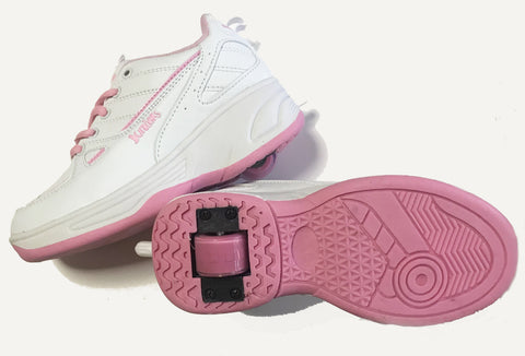 ROLLER SHOES Pink/White