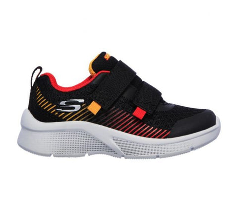 Skechers INFANT BOYS MICROSPEC Black/Red