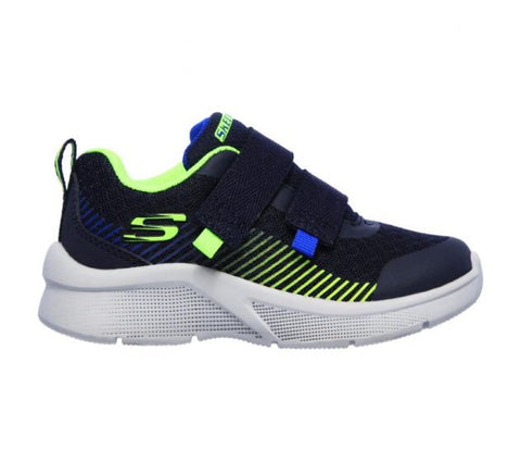 Skechers INFANT BOYS MICROSPEC Navy/Lime