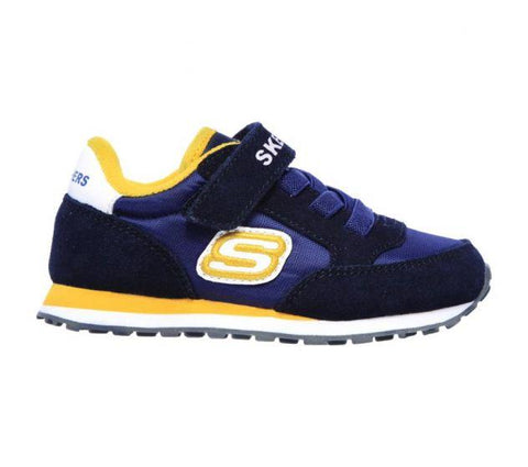 Skechers INFANT BOYS' RETRO SNEAKS - GORVOX Navy/Gold