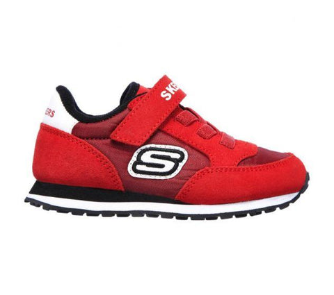 Skechers INFANT BOYS' RETRO SNEAKS - GORVOX Red
