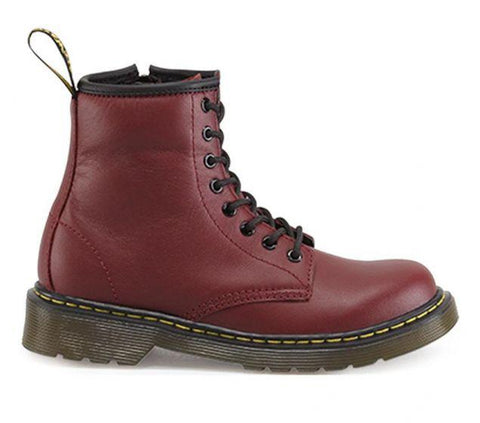 Dr. Martens Junior DELANEY BOOT Cherry
