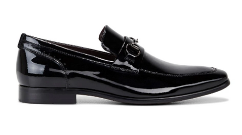 Julius Marlow LODGED Black Patent