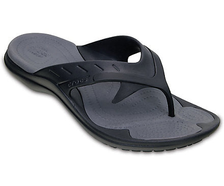 Crocs MEN'S MODI SPORT FLIP Black/Graphite