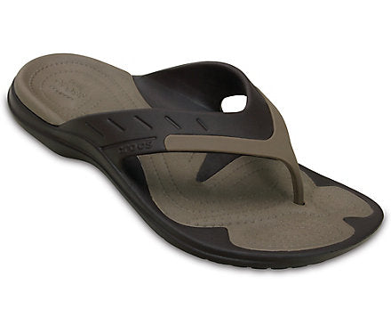 Crocs MEN'S MODI SPORT FLIP Espresso/Walnut
