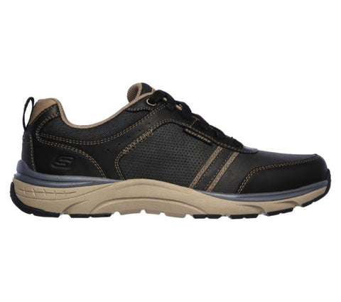 Skechers MEN'S RELAXED FIT SENTINAL-LUNDER Black