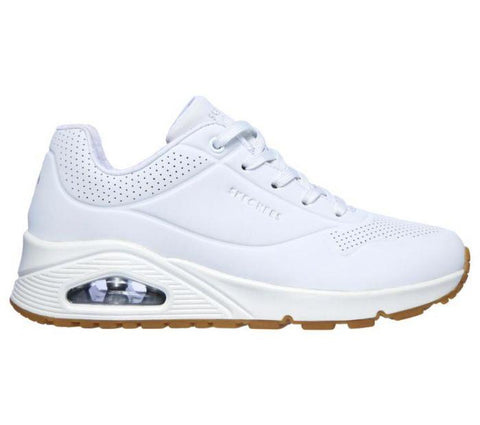 Skechers WOMEN'S UNO-STAND ON AIR White