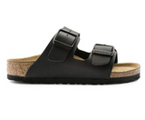Birkenstock KIDS ARIZONA BIRKO-FLOR Black Sandals