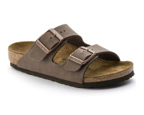 Birkenstock KIDS ARIZONA BIRKO-FLOR Mocca Sandals