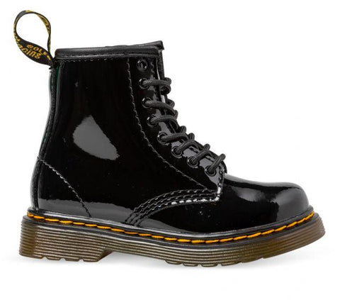 Dr. Martens Toddler BROOKLEE BOOT Black Patent