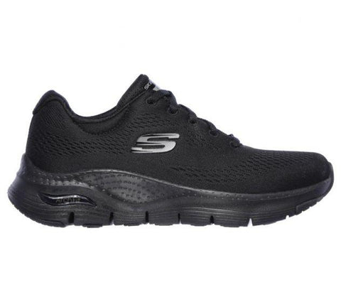 Skechers WOMEN'S SKECHERS ARCH FIT Black/Black