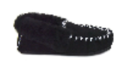 MOCCASINS Adults Black