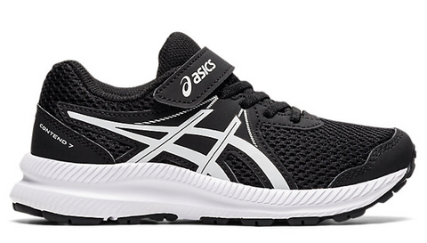 Asics KIDS CONTEND 7 PS Black/White