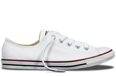 Converse ALL STAR DAINTY Low Canvas White Women's