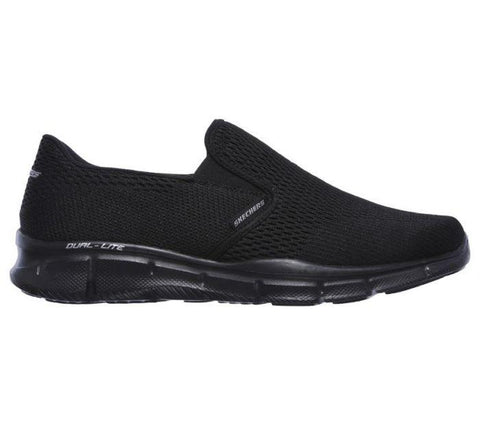Skechers MEN'S EQUALIZER-DOUBLE PLAY Black/Black