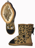 Kids GIRAFFE UGG Tan