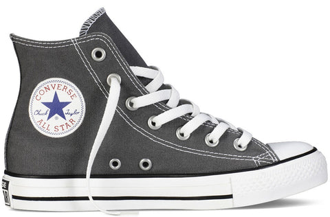 Converse Adult ALL STAR Hi Leather Charcoal