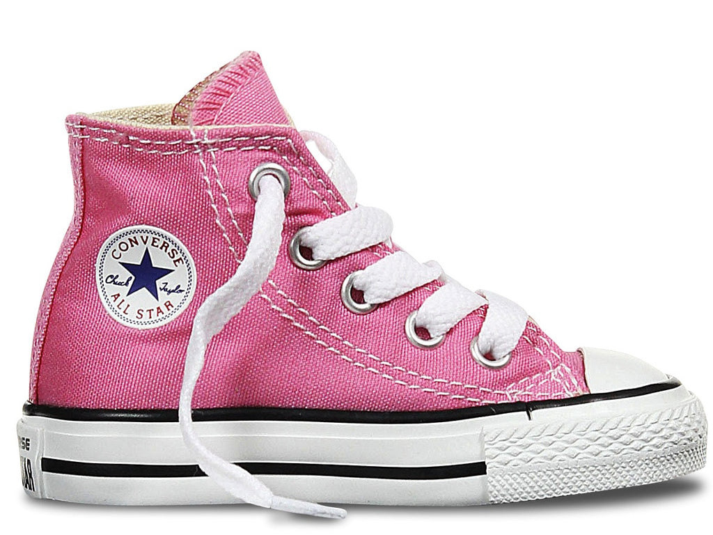 d6c07701b665 Converse Infant ALL STAR Hi Canvas Pink – Sesto Shoex