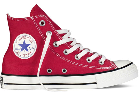 Converse Adult ALL STAR Hi Canvas Red