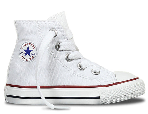 Converse Infant ALL STAR Hi Canvas White