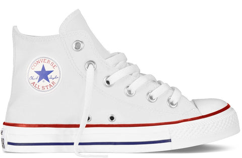 Converse Junior ALL STAR Hi Canvas White