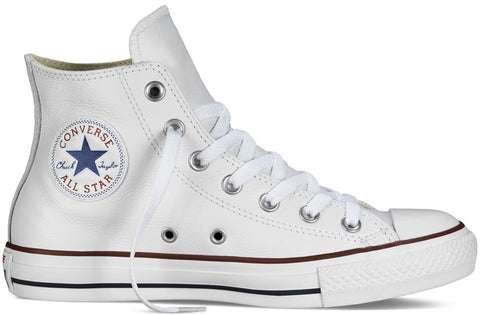 Converse Adult ALL STAR Hi Leather White