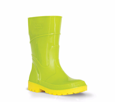 Bata CHILDRENS BUBBLEGUMMER GUMBOOT Lime