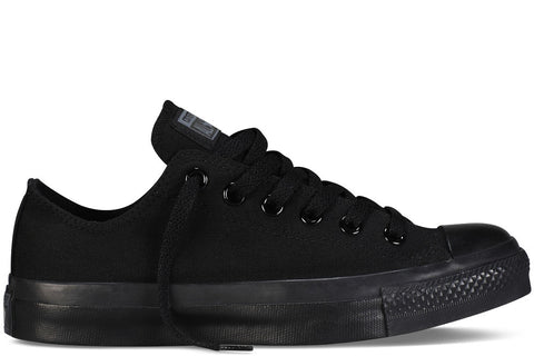 Converse Adult ALL STAR Low Canvas Black Mono