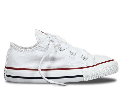 Converse Infant ALL STAR Low Canvas White