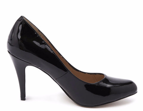 Siren LOUIS Black Patent Leather