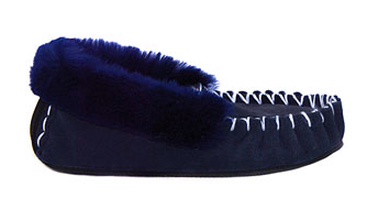 Australian Made 100% Wool Moccasin Slippers