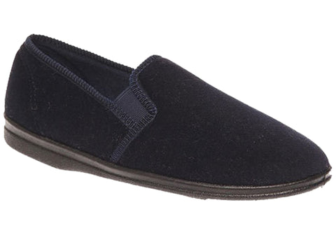 Grosby PERCY Navy Slipper