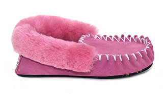 MOCCASINS Adults Pink