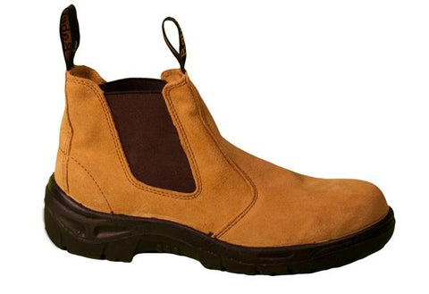 Raben STEEL CAP SLIP ON ELASTIC BOOT Wheat