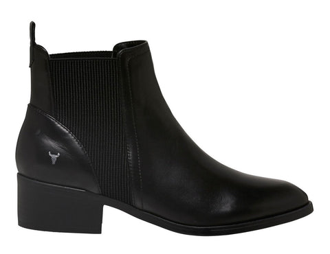 Windsor Smith RAF Black leather