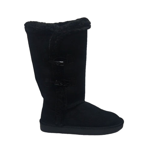 BUTTON UGG Black