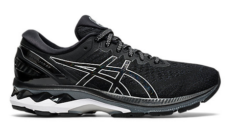 Asics WOMENS GEL-KAYANO 27 Black/Pure Silver