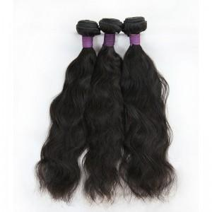 4x4 Natural Wave Lace Closure Natural Color, #2, #4