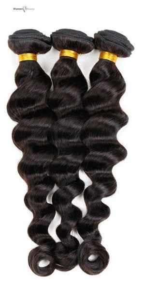 Brazilian Loose Wave 100% Human Hair Virgin Remy Bundle