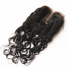 4x4 Wet Wave Lace Closure Natural Color, #2, #4