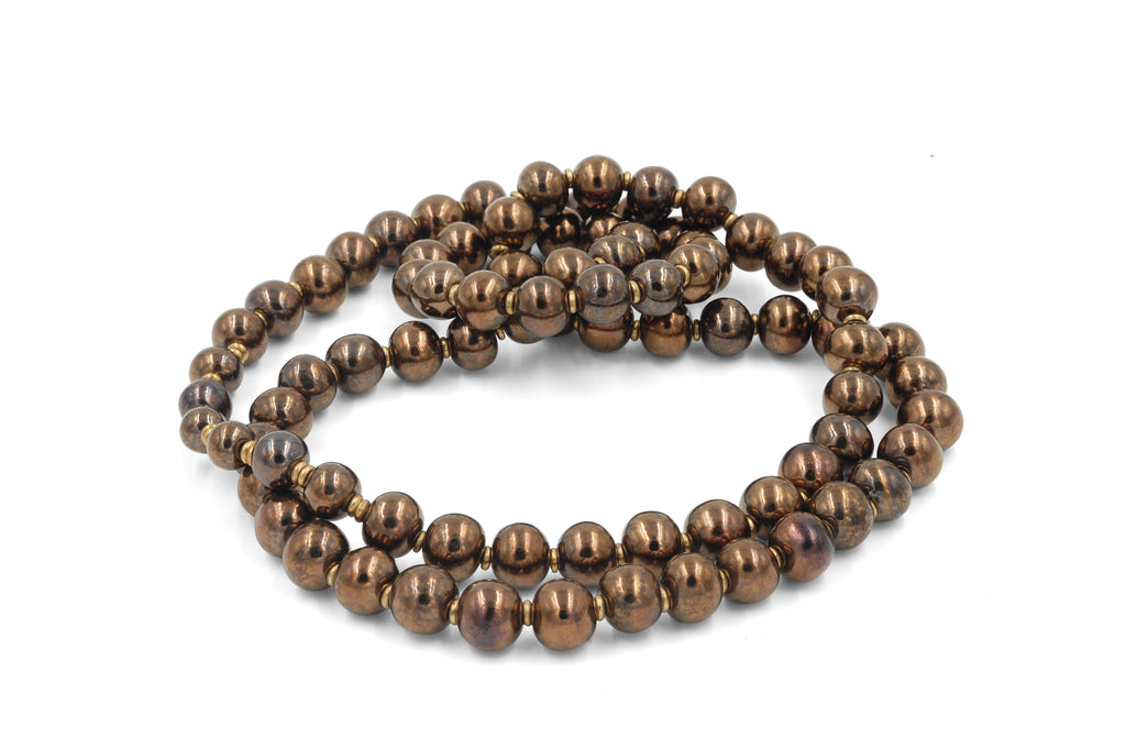 Single Strand Bronze ~ More Masculine ~ Medium Length