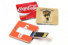 FD-267 Small Square Credit card size USB 1GB-16GB