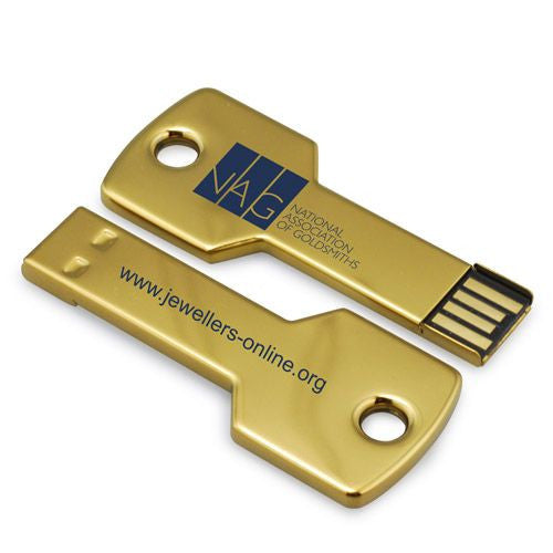 FD-100 Metal Key Stick USB 1GB-16GB