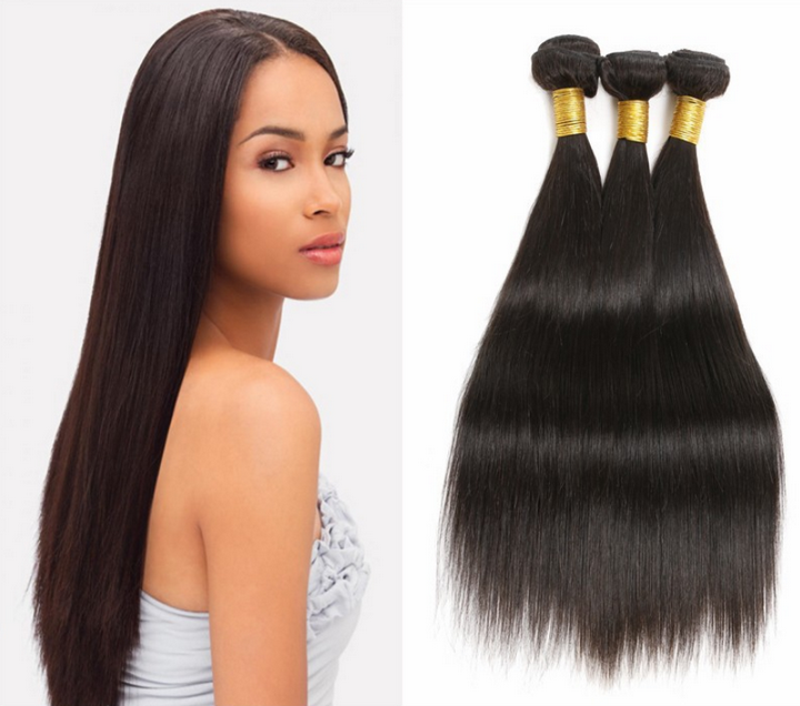 STRAIGHT VIRGIN HAIR BUNDLES, [product_type - hair4uonline
